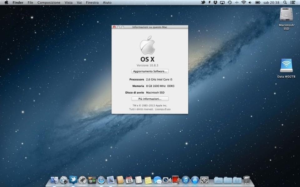 mac os maverick sistema operacional